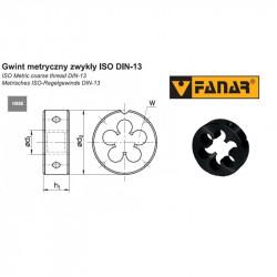Narzynka maszynowa M2,5 DIN-22568 6g HSSE INOX