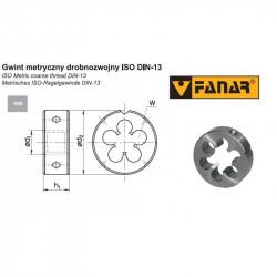 Narzynka maszynowa M4x0,5 LH DIN-22568 (6g) HSS 800