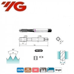 GWINTOWNIK  M-AZ 2  DIN 371/376   ISO 6H  Bright