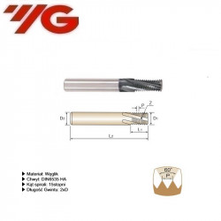 Frez do gwintowania  M3  DIN 6535 HA