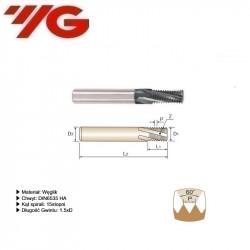 Frez do gwintowania  M8x1.0  DIN 6535 HA