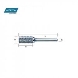 Frez palcowy 6 x 19 mm  TYP A