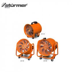 Mobilny wentylator do zastosowań przemysłowych 420 x 380 x 380 mm MV 30
