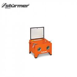 Komory do piaskowania o pojemności 90 l   590 x 485 x 490 mm  SSK1