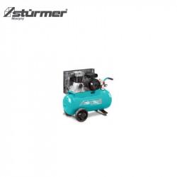 Sprężarka z napędem pasowym 870 x 400 x 700 mm  AIRSTAR 401/50 Eco