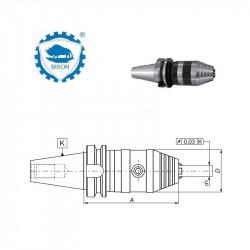 Oprawka z uchwytem wiertarskim kluczykowym 40-13-113  MAS 403-BT AD  Typ 7661