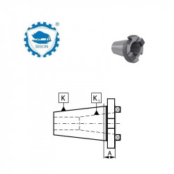 Tuleja redukcyjna do narzędzi z chwytem 7:24   40-30  DIN 2080 Typ 1650