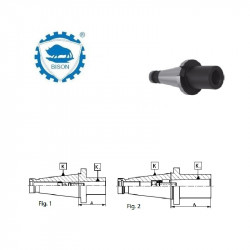 Tuleja redukcyjna do narzędzi z chwytem Morse'a z gwintem wg  DIN 228-B  30-1-50  Typ 1676