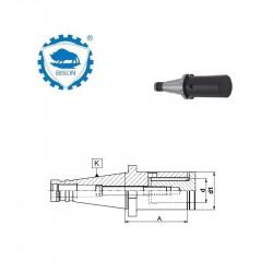Trzpień frezarski uniwersalny 40-40-60  DIN 2080  Typ 7332 QC