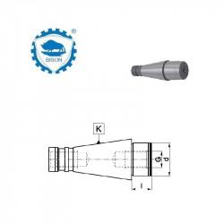 Trzpień frezarski środkujący 40-40-30 DIN 2080  Typ 7350