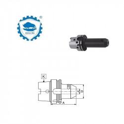 Oprawka 100-16-170  z uchwytem wiertarskim kluczykowym DIN 69893-A  Typ 5392