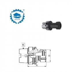 Trzpień frezarski zabierakowy 63-16-45 do frezów z rowkiem zabierakowym  DIN 138  Typ 7888