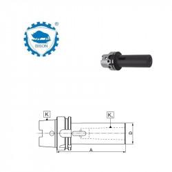 Tuleja redukcyjna  63-1-100  do narzędzi z chwytem Morse'a z płetwą wg DIN 228-B Typ 7890