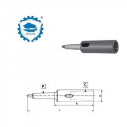 Tuleja redukcyjna 6-5-218  do narzędzi z chwytem Morse'a i nakrętka ściągającą   DIN 228  Typ 1754