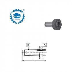 Tuleja redukcyjna 3-2 do narzędzi z chwytem Morse'a z gwintem z nakrętką ściągającą   DIN 228  Typ 1774