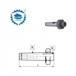 Tuleja redukcyjna 2-1 do narzędzi z chwytem Morse'a z płetwą z nakrętką ściągającą   DIN 228  Typ 1775