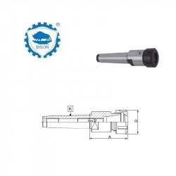 Oprawka zaciskowa 100-40-120  do narzędzi z chwytem walcowym ze spłaszczeniem klinowym DIN 69893-A  Typ 7886
