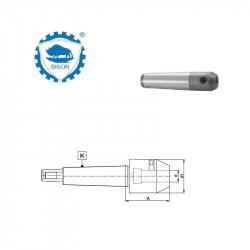 Oprawka zaciskowa 2-6 do narzędzi z chwytem walcowym DIN 1835-B  Typ 7721