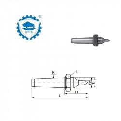 Kieł stały 60°  2-118  zewnętrzny wydłużony z nakrętką DIN 228 Typ 8728