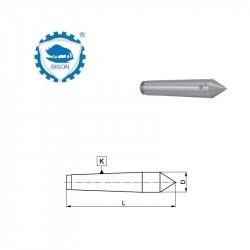 Kieł stały 60° 0-70  zewnętrzny  DIN 228 Typ 8712