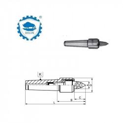 Kieł  tokarski 2-170  obrotowy DIN 228 Typ 8813 R