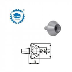 Kieł  tokarski 2-0,010 obrotowy - korpus  DIN 228 Typ 8831