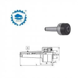 Kieł  tokarski 2-18 obrotowy  DIN 228 Typ 8842