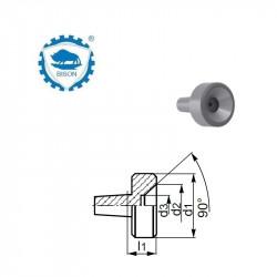 Kieł  tokarski 2-15 obrotowy  DIN 228 Typ 8848