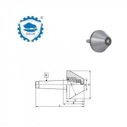 Kieł  tokarski  2-15 obrotowy  DIN 228 Typ 8853