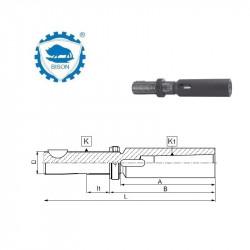 Tuleja 16-1 z regulacją osiową  DIN 6327  Typ 1830