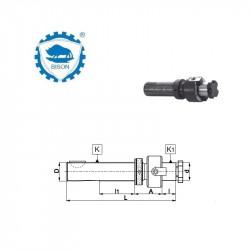Trzpień 48-40  z regulacją osiową DIN 6327 Typ 7510
