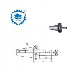 Oprawka 40-M8-55 do frezów wkręcanych  DIN 69871  Typ 7669
