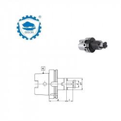 Trzpień frezarski uniwersalny 100-16-60  do frezów z rowkiem wpustowym lub zabierakowym w/g DIN 138  Typ 7889