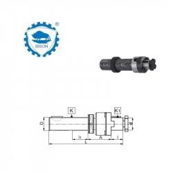 Trzpień 20-B12  z regulacją osiową DIN 6327 Typ 5365