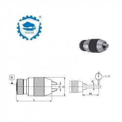 Uchwyt 10-B12  wiertarski bezkluczykowy Typ 5134 - EKO