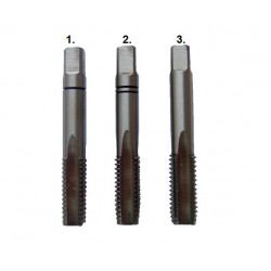 Gwintowniki ręczne fi 12,0mm KOMPLET 3 SZT. DIN 352 FESTA Professional