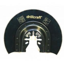 Brzeszczot segmentowy półokrągły z nasypem karbidowym 65mm Carbide HM Multitool DRILLCRAFT