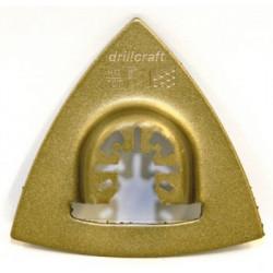 Dysk szlifierski trójkąt (Delta Rasp) 80mm Carbide HM Mutlitool DRILCRAFT