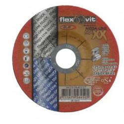Flexovit Bardzo cienka tarcza 125x0,8x22,23 Inox+stal
