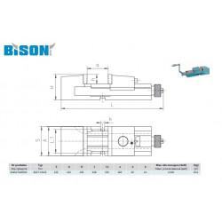 IMADŁO MASZYNOWE 6517-M125 BISON-BIAL