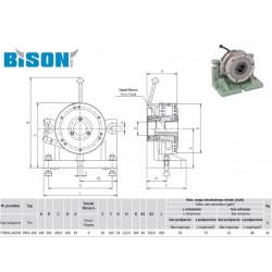 STÓŁ PODZIAŁOWY 5901-160 BISON-BIAL