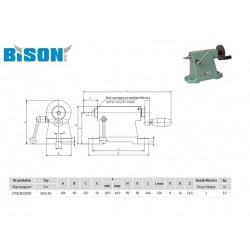 KONIK 5818-80 BISON-BIAL