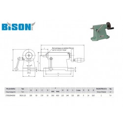 KONIK 5818-125 BISON-BIAL