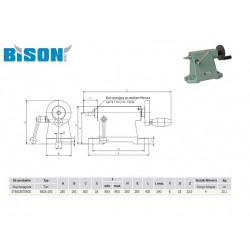 KONIK 5818-250 BISON-BIAL